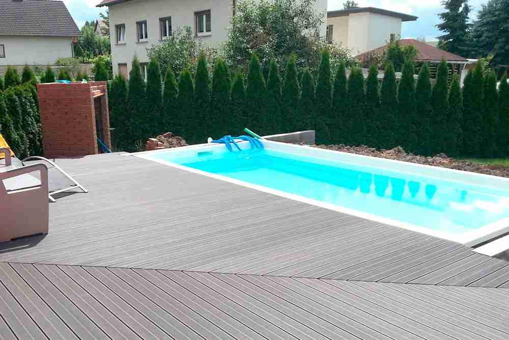 WPC-Terrassendielen (Holzverbundstoff)